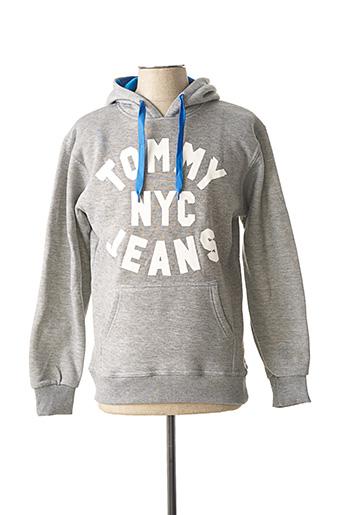 Sweat-shirt gris DYLAN DTAR pour homme