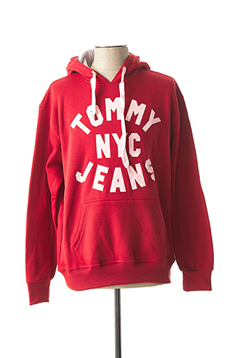 Sweat-shirt rouge DYLAN DTAR pour homme