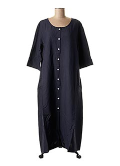 Robe longue bleu BARBARA LANG pour femme