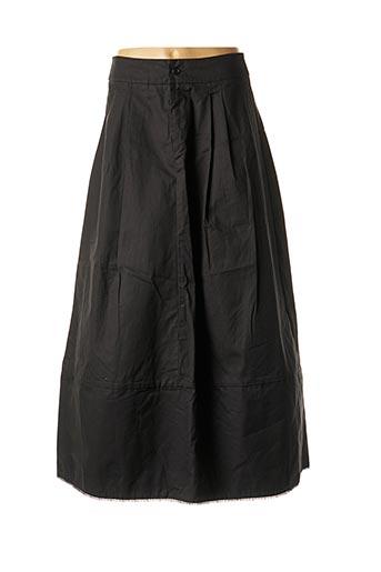 Jupe longue noir APUNTOB pour femme
