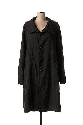 Manteau long noir COMME DES GARCONS pour femme