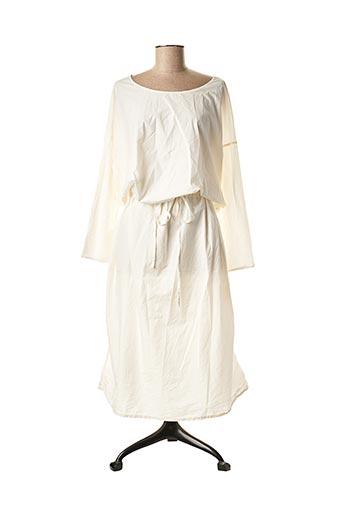Robe longue blanc ALBUM DI FAMIGLIA pour femme