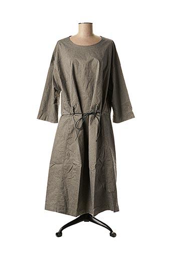 Robe mi-longue gris ALBUM DI FAMIGLIA pour femme
