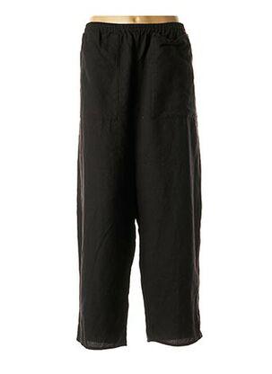 Pantalon casual noir BARBARA LANG pour femme