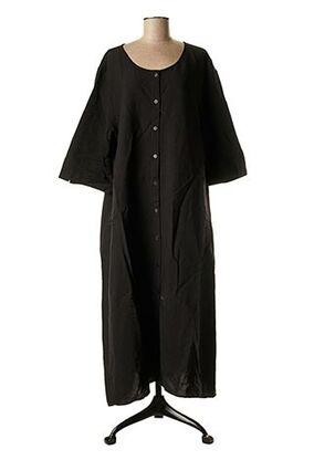 Robe longue noir BARBARA LANG pour femme