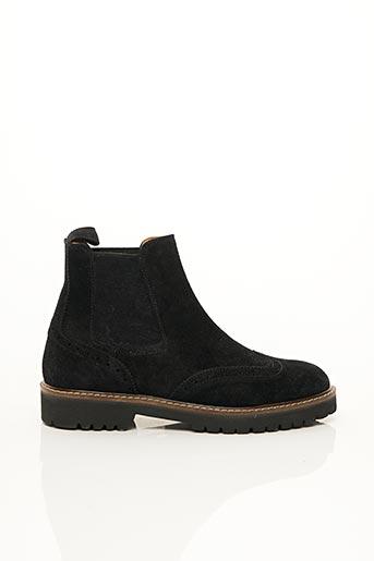 Bottines/Boots noir DELAVÈ pour femme