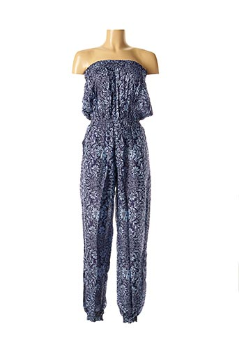 Combi-pantalon bleu DIPAWALI pour femme