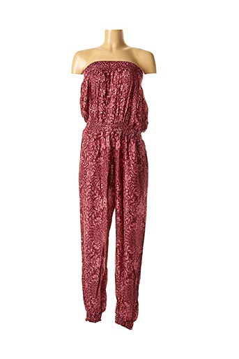 Combi-pantalon rose DIPAWALI pour femme