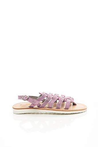 Sandales/Nu pieds violet LES SPARTIATES PHOCEENNES pour fille