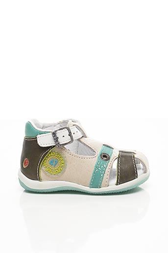Sandales/Nu pieds bleu GBB pour garçon