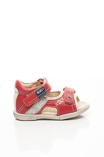 Sandales/Nu pieds rouge NOËL pour garçon