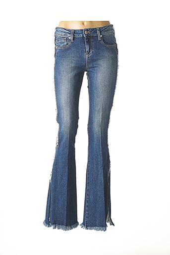 Jeans bootcut bleu BSB pour femme