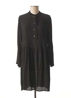 Robe courte noir DES PETITS HAUTS pour femme