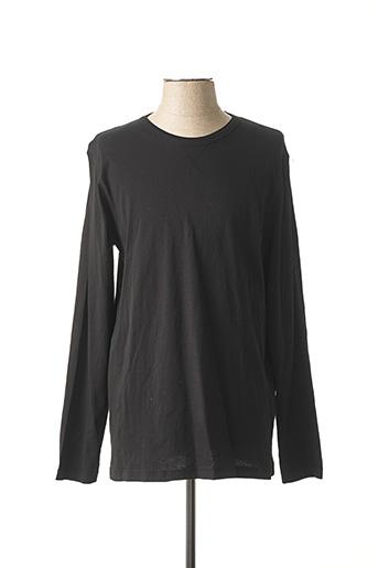 T-shirt manches longues noir BRAVE SOUL pour homme