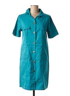 Robe courte bleu AGATHE & LOUISE pour femme