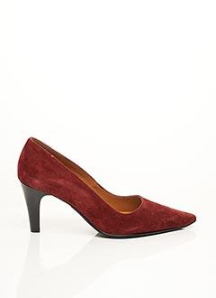 Escarpins rouge FRANCE MODE pour femme