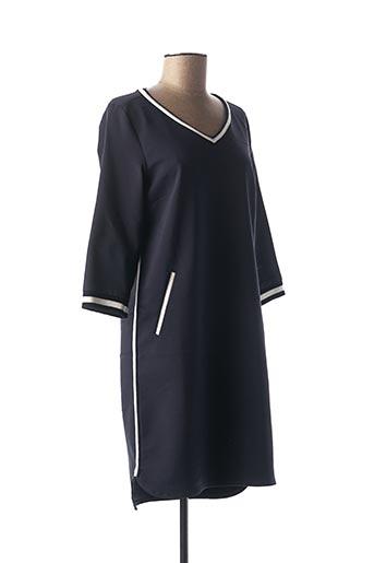 Robe courte bleu C'EST BEAU LA VIE pour femme