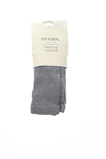 Collants gris MAYORAL pour fille