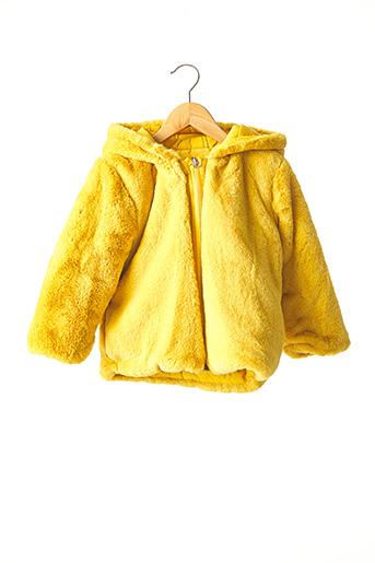 Manteau long jaune MAYORAL pour fille