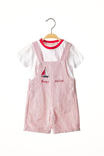 Top/pantalon rouge BABY BOL pour garçon