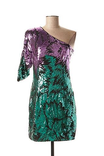 Robe courte violet GUESS pour femme