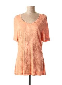 T-shirt manches courtes orange GERRY WEBER pour femme
