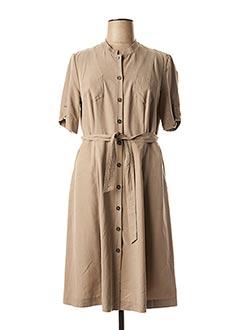 Robe mi-longue beige GERRY WEBER pour femme