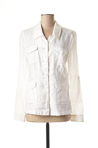 843 NEUF Gerry Weber Chemisier chemise manches longues taille 42 blanc