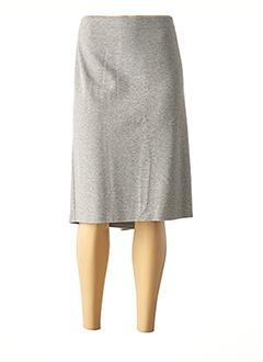 Jupe mi-longue gris GERRY WEBER pour femme