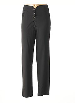 Pantalon chic noir CREA CONCEPT pour femme