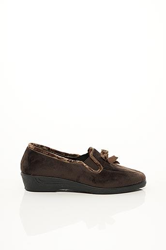 Chaussons/Pantoufles marron RONDINAUD pour femme