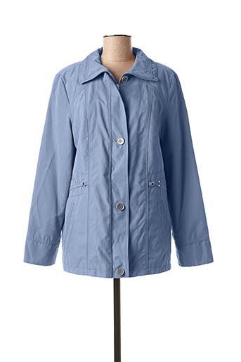 Imperméable/Trench bleu LEBEK pour femme