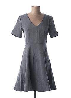 Robe courte bleu LOLA ESPELETA pour femme