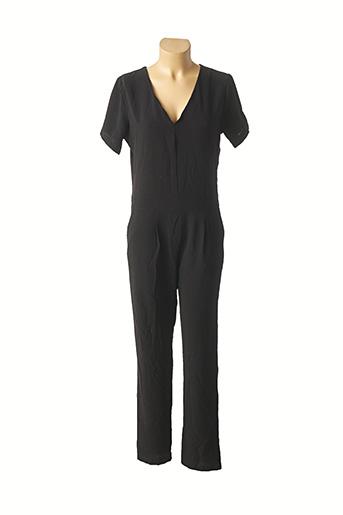 Combi-pantalon noir PAKO LITTO pour femme