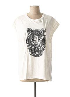 T-shirt manches courtes blanc VILA pour femme