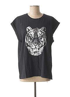 T-shirt manches courtes noir VILA pour femme