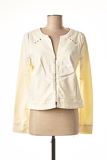 Veste casual beige PAUL BRIAL pour femme