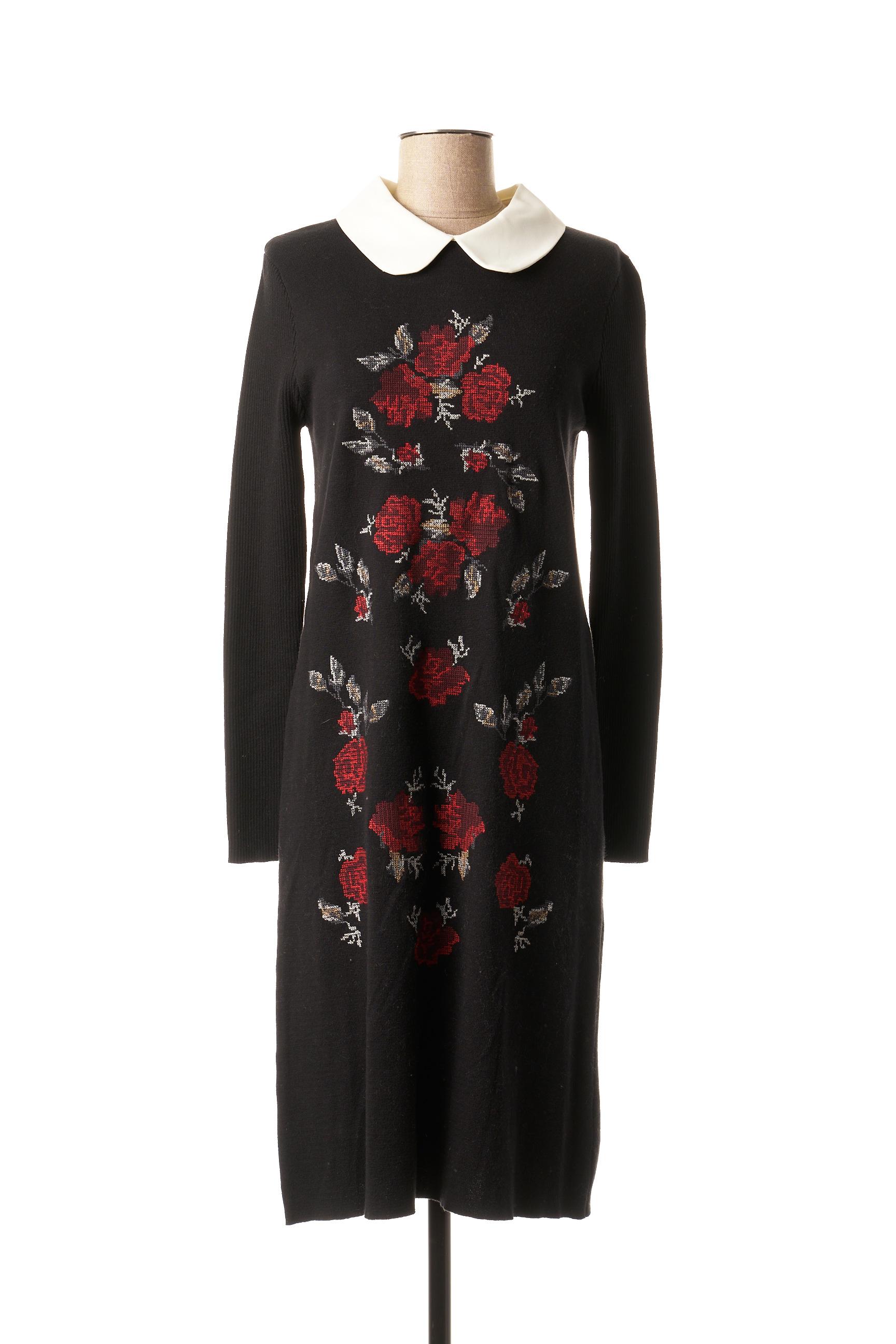Robe pull femme Paul Brial noir taille : 40 66 FR (FR)