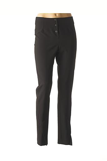 Pantalon casual noir MERI & ESCA pour femme