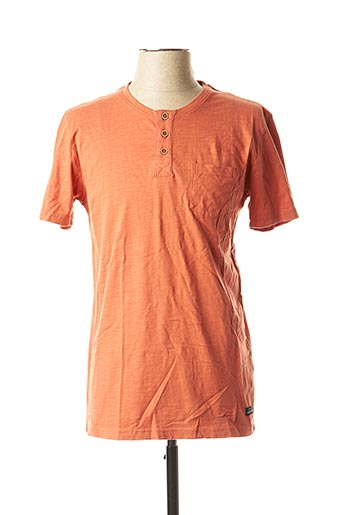 T-shirt manches courtes orange TIFFOSI pour homme