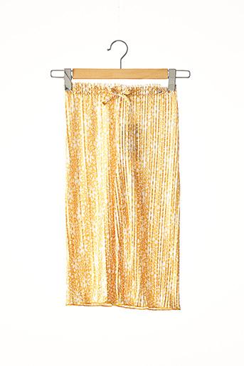 Pantalon casual jaune TIFFOSI pour fille