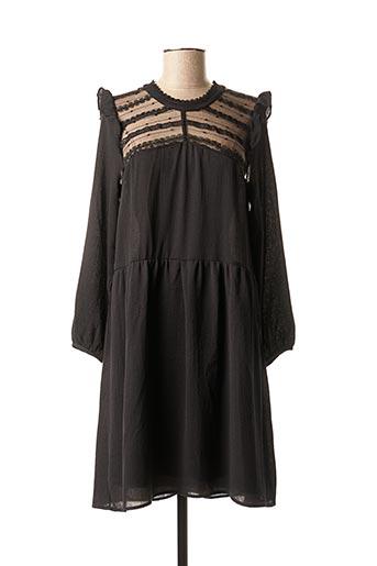 Robe mi-longue noir ANDY & LUCY pour femme