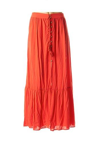 Jupe longue rouge MOLLY BRACKEN pour femme
