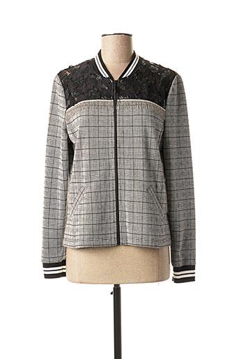 Veste chic / Blazer gris FRANK WALDER pour femme
