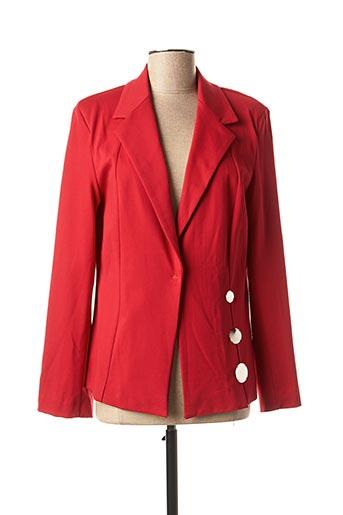Veste chic / Blazer rouge EDAS pour femme