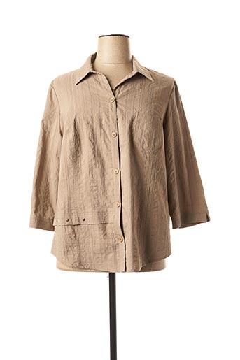 Veste casual marron GUY DUBOUIS pour femme
