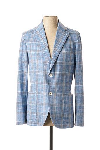 Veste casual bleu CIRCOLO 1901 pour homme