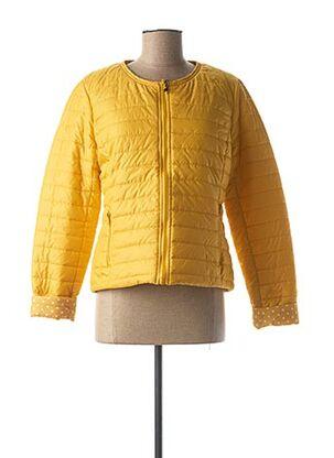 Doudoune jaune ESCANDELLE pour femme