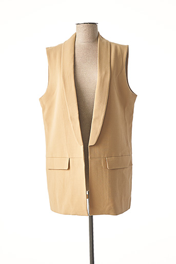 Veste chic / Blazer beige YAYA pour femme