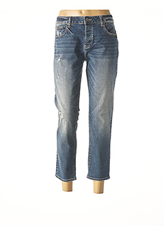 Jeans coupe droite bleu FRACOMINA pour femme
